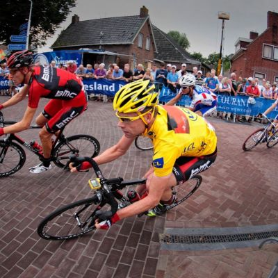 <strong>Wielrenner  gele trui  Cadel Evans</strong>