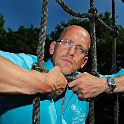 <strong>Ydo de Vries  voorzitter Survivalbond Nederland</strong>