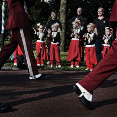 <strong>fanfare optocht</strong>