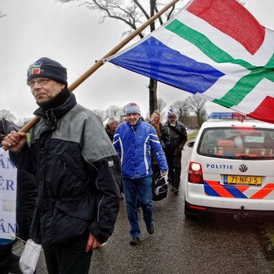 <strong>Solidariteitswandeling met gasgedupeerden</strong>