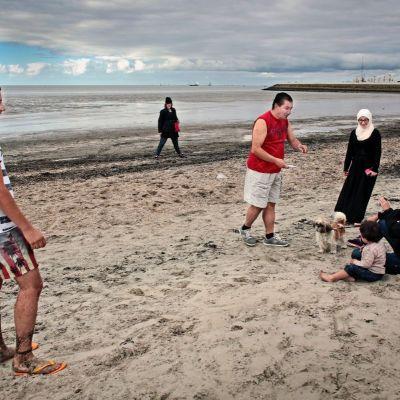 <strong>Syrische vluchtelingen strand Harlingen</strong>