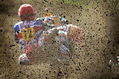 <strong>grasbaanrace zijspan  opvliegend modder</strong><br><p>European Newspaper Award category photography</p>