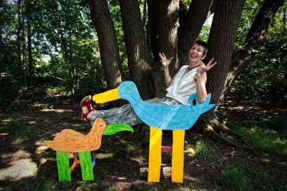 <strong>Titi Zaadnoordijk  beeldend kunstenaar, dichter en performer</strong>