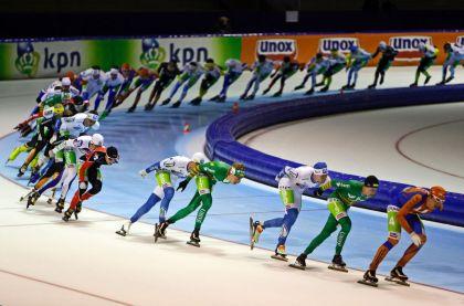 <strong>schaatsmarathon Thialf Heerenveen</strong>