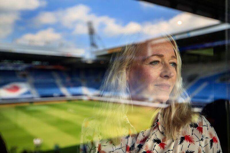 <strong>Froulju foar Fryslân Voorzitter vrouwen SC Heerenveen voetbal,Froukje Hofma</strong>