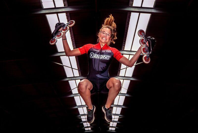 <strong>inline-skater Maya de Jong</strong>