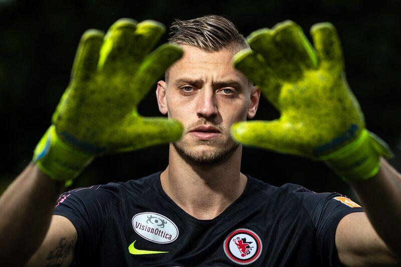 <strong>Andries Noppert, Friese keeper van het Italiaanse Foggia.</strong>