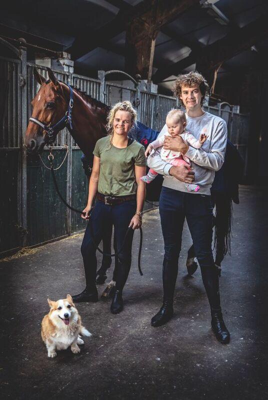 <strong>Marriet Hoekstra  de beste Friese ruiter en familie</strong>