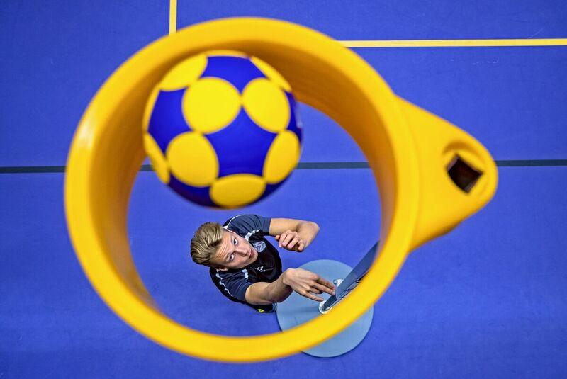 <strong>korfballer Jelmer Jonker</strong>