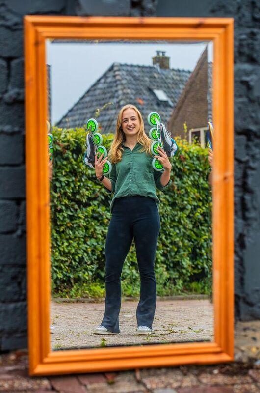 <strong>inline-skater Moniek Klijnstra</strong>